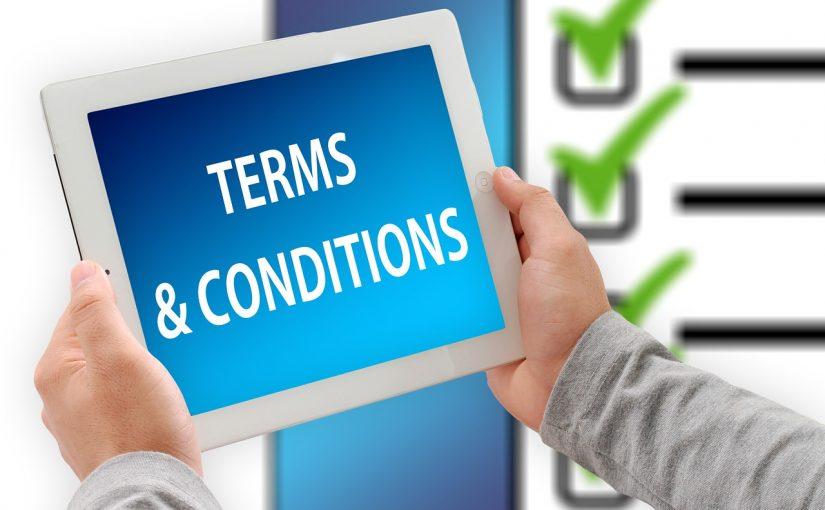 CGV, Contrat de prestation, Contrat client, Politique de confidentialité, …